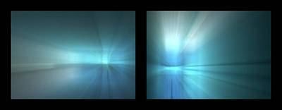 Photograph - Shineonucrazydiamond Diptych 22 Onblack by David Hargreaves