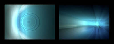 Photograph - Shineonucrazydiamond Diptych 23 Onblack by David Hargreaves