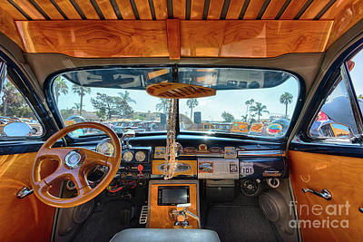 Photograph - Shiny Woody Wood Trim by David Levin