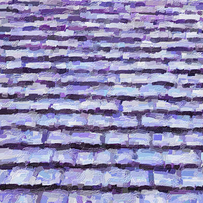 Digital Art - Shingles by Leslie Montgomery
