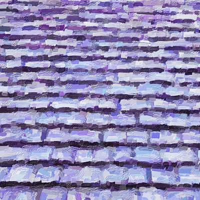 Digital Art - Shingles by Leslie Montgomery