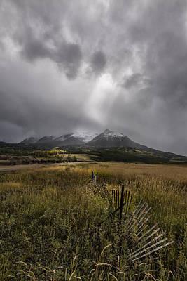 Photograph - Shining  On My Farm by Jon Glaser