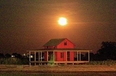 Photograph - Shining On The Shack by Catie Canetti