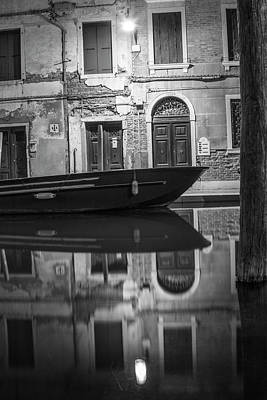 Photograph - Shining The Light In Venice Italy  by John McGraw