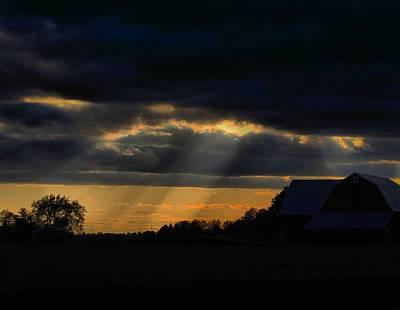 Photograph - Shining Through by Scott Hovind