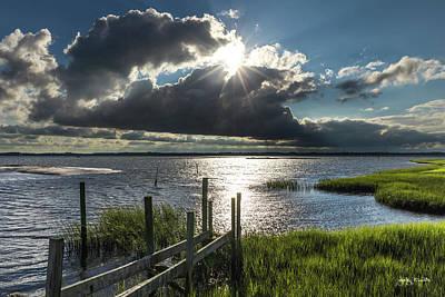 Photograph - Shining Thru The Clouds by Jody Merritt