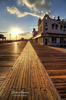 Photograph - Shining Walkway by John Loreaux