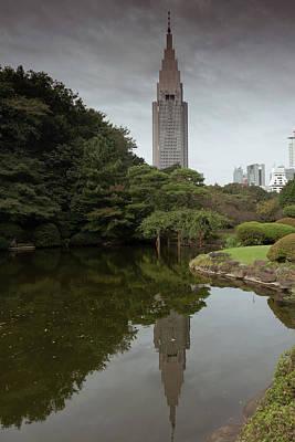 Photograph - Shinjuku National Garden by Steven Richman