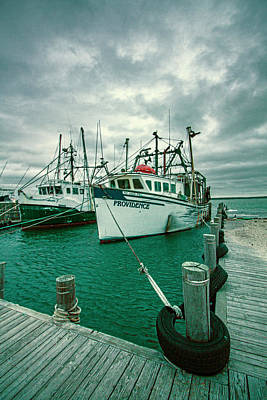 Photograph - Shinnecock Fishing Vessels by Robert Seifert