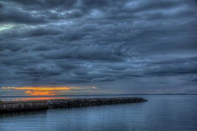 Photograph - Shinnecock Sky by Steve Gravano