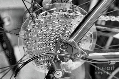 Photograph - Shinny Gears by John S