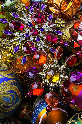 Photograph - Shiny Ornaments by Garry Gay