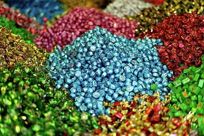 Large Group Of Objects Photograph - Shiny Sweets In Spice Market by Image by Damian Bettles