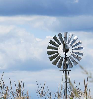 Photograph - Shiny Windmill by Jeanette Oberholtzer
