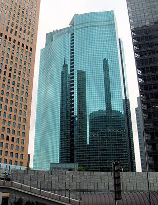 Photograph - Shiodome City Centre Tokyo by Yvonne Johnstone