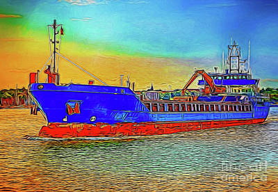 Photograph - Ship 19618 by Ray Shrewsberry