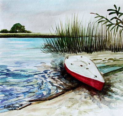 Painting - Ship Ahoy by Elizabeth Robinette Tyndall