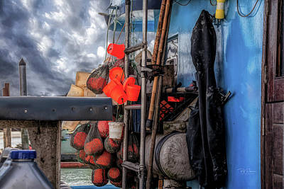 Photograph - Ship Art #19 by Bill Posner