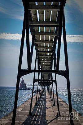 Photograph - Ship Canal North Pierhead Light by Deborah Klubertanz