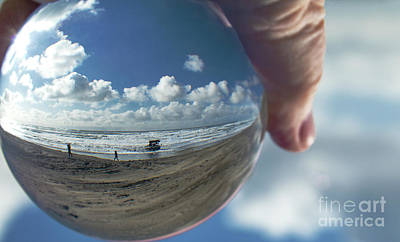 Peter Iredale Photograph - Ship In A Bubble by Betty Doran