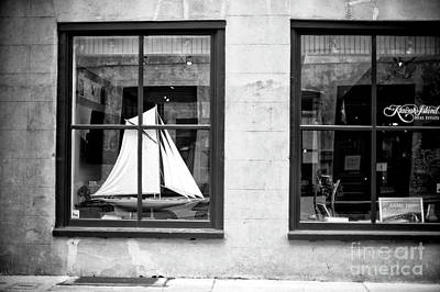 Photograph - Ship In The Window by John Rizzuto