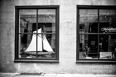 Photograph - Ship In The Window Charleston by John Rizzuto