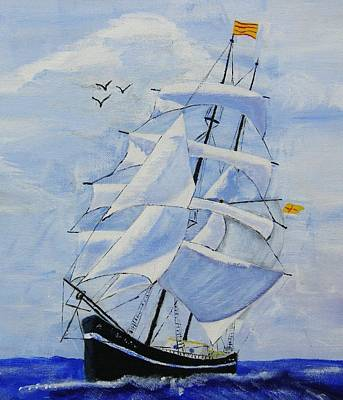 Painting - Ship It by Rock Rivard