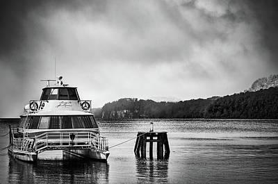Photograph - Ship On The Docks Of Mansa Bay by Eduardo Jose Accorinti