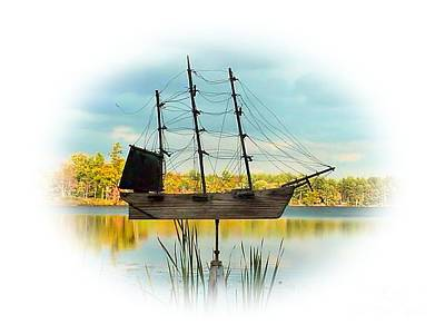 Photograph - Ship Out Of Water by Debbie Stahre