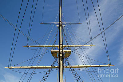 Photograph - Ship Rigging by Kennerth and Birgitta Kullman