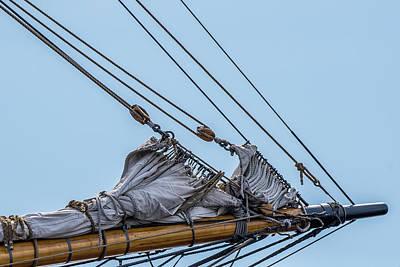 Ship Rigging Art Print