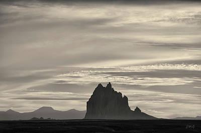 Photograph - Ship Rock I Toned by David Gordon