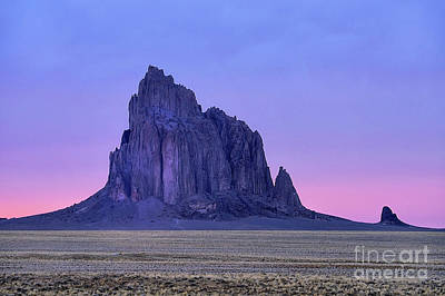 Photograph - Ship Rock Sunset by Roxie Crouch