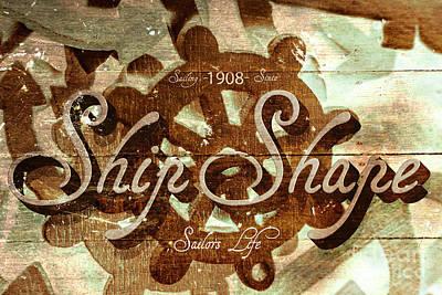 Digital Art - Ship Shape 1908 by Jorgo Photography - Wall Art Gallery