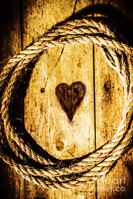 Cord Photograph - Ship Shape Heart by Jorgo Photography - Wall Art Gallery