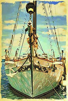 Photograph - Ship Shape In Key West by Alice Gipson