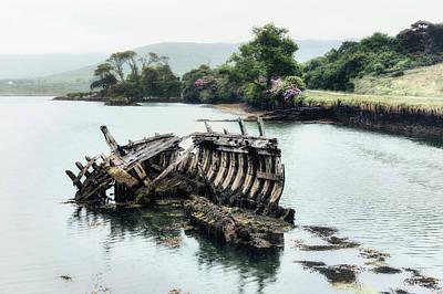 Ship Wreck Art Print by Joana Kruse