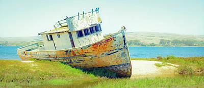 Photograph - Ship Wreck by Nick Borelli