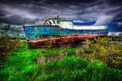 Photograph - Ship Wreck by Patrick Boening