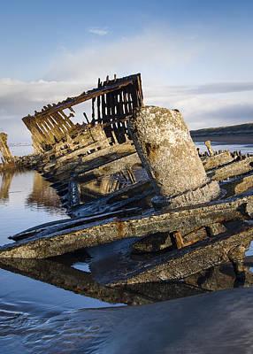 Photograph - Ship Wreck by Robert Potts