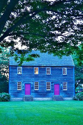 Photograph - Shipcarpenter's Square Home 2 by Kim Bemis