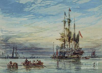 Shipping, 19th Century Art Print