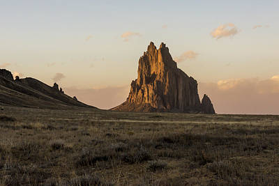 Photograph - Shiprock 2 - North West New Mexico by Brian Harig