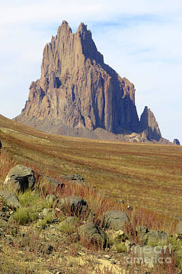 Photograph - Shiprock by Frank Townsley