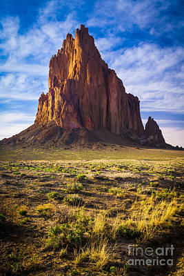 New Mexico Photograph - Shiprock by Inge Johnsson