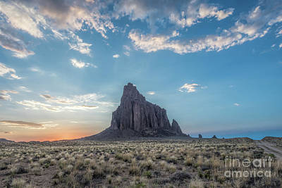 Photograph - Shiprock  by Robert Loe