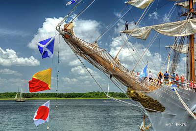 Photograph - Ships Ahoy by Walt Baker