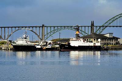 Photograph - Ships Anchored In Newport by Kirsten Giving