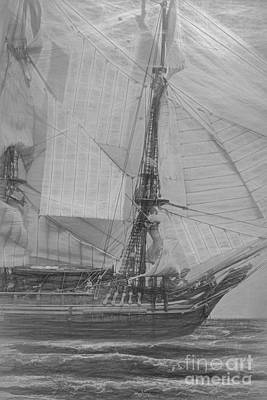 Historic Schooner Photograph - Ships And Sea Exploration by Jorgo Photography - Wall Art Gallery
