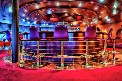 Martini Royalty-Free and Rights-Managed Images - Ships Bar by Maria Coulson
